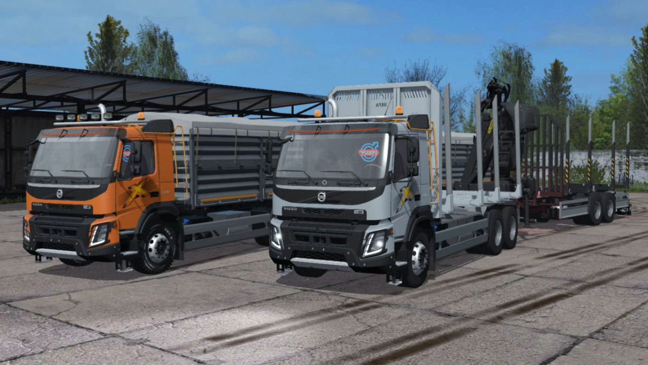 Pack Volvo FMX