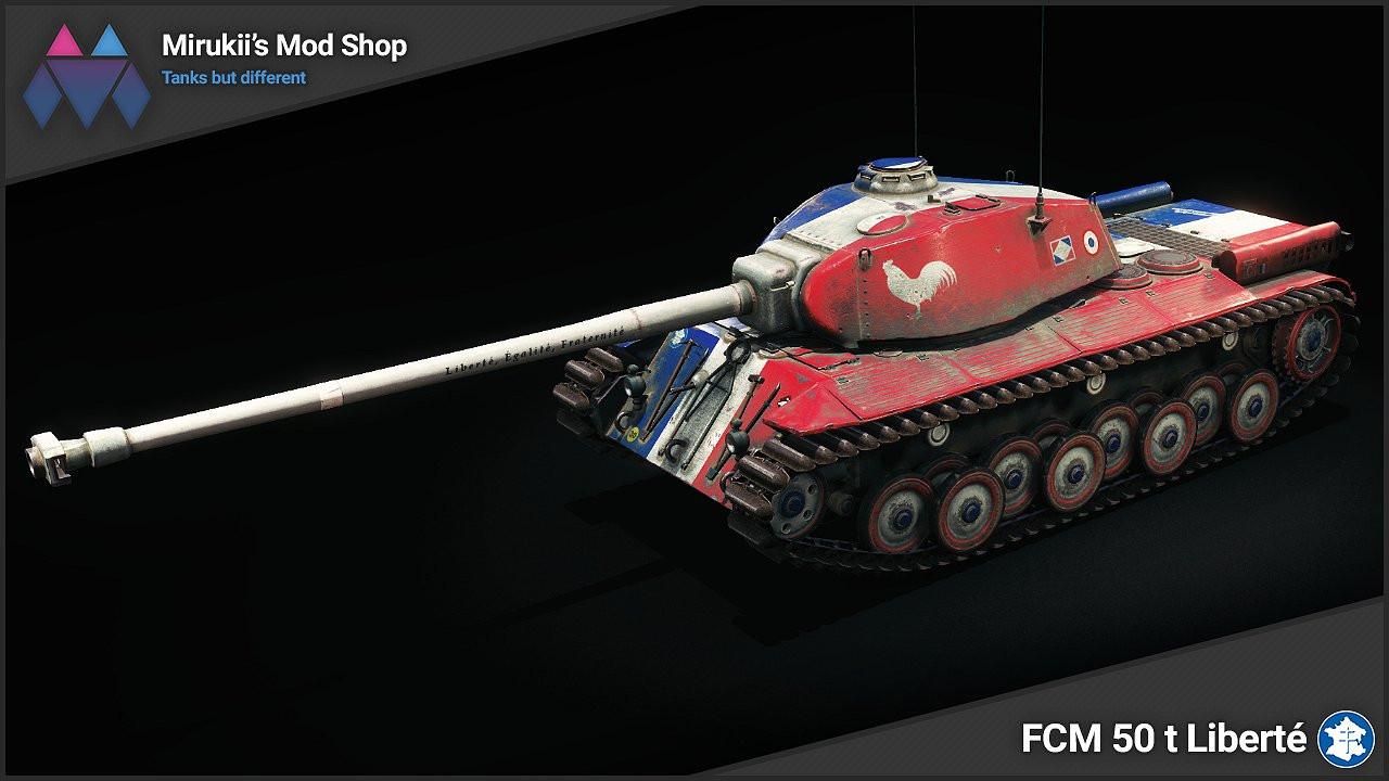 Mirukii's FCM 50 t Liberté Skin