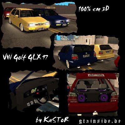 1997 VW Golf GLX 2.0 Mi