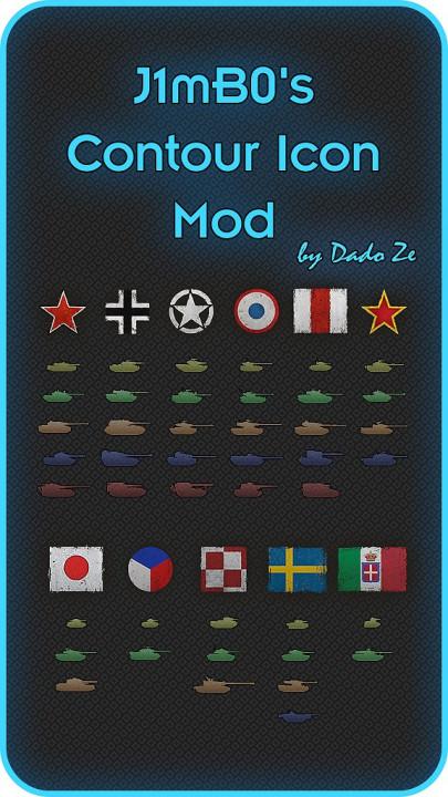 J1mB0's Contour Icons Mod