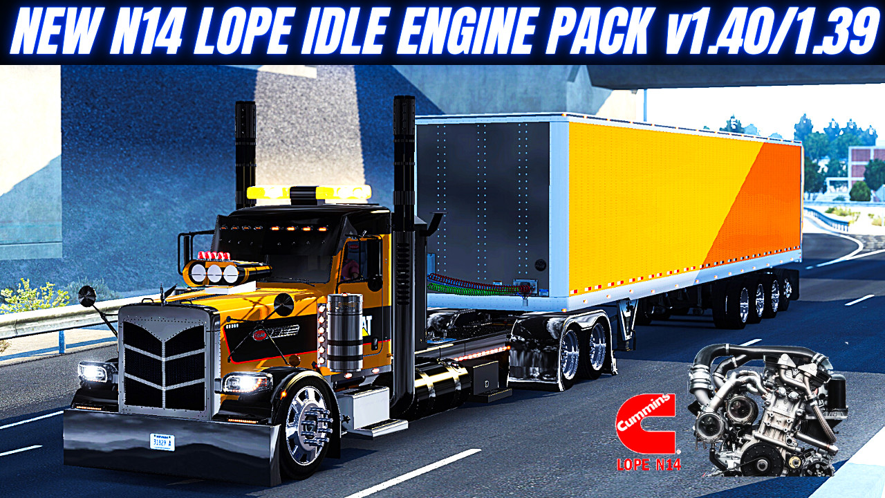 New N14 CUMMINS LOPE IDLE PACK  [ATS 1.40-1.39]
