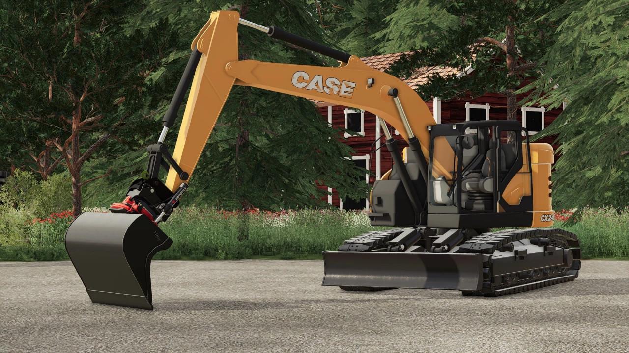 Case CX245D