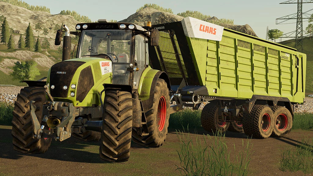 CLAAS Axion 800