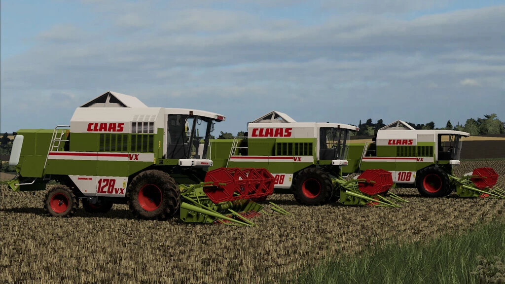 CLAAS Dominator VX 98/108/128