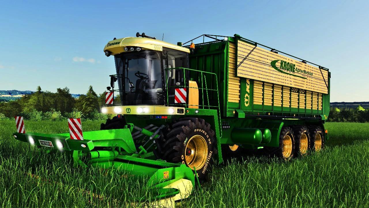 Krone Self-propelled self-loading mower