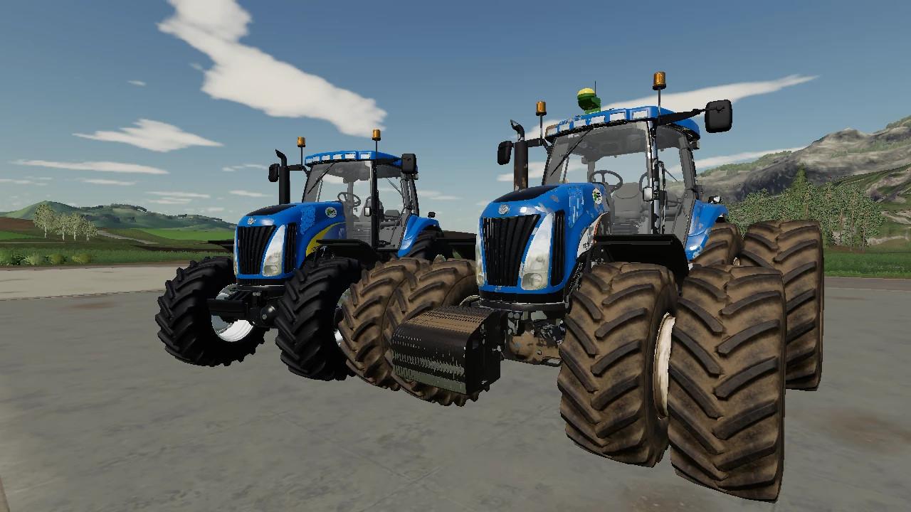 New Holland TG Series EU