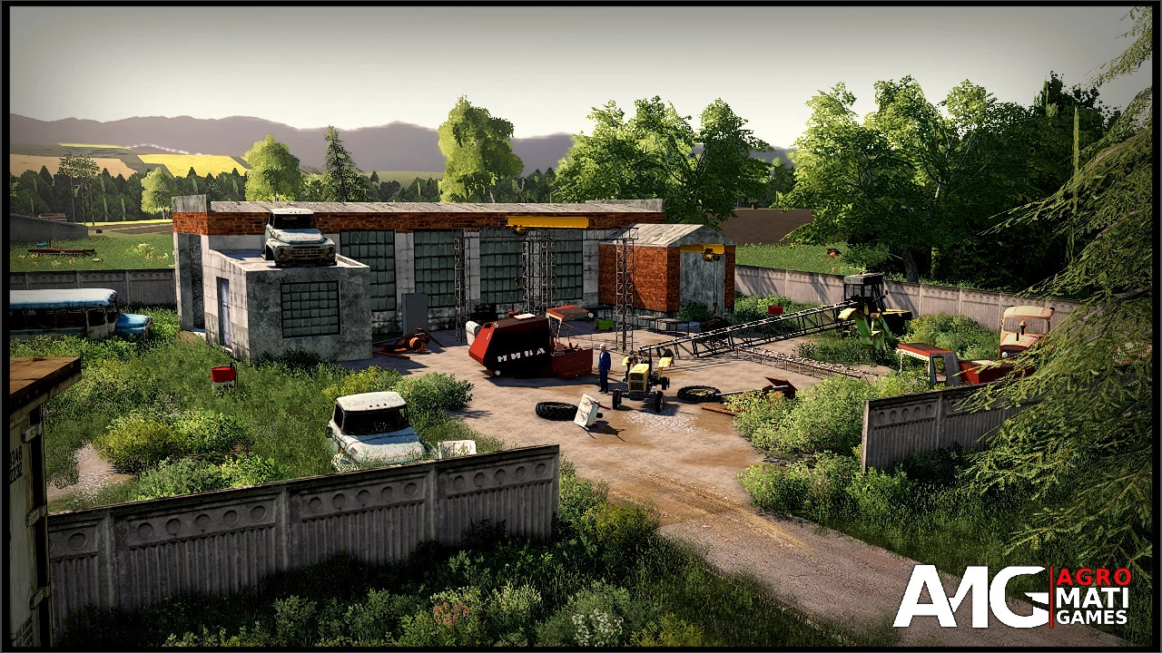 RYSIOWICE MAP BY AGRO MATI GAMES