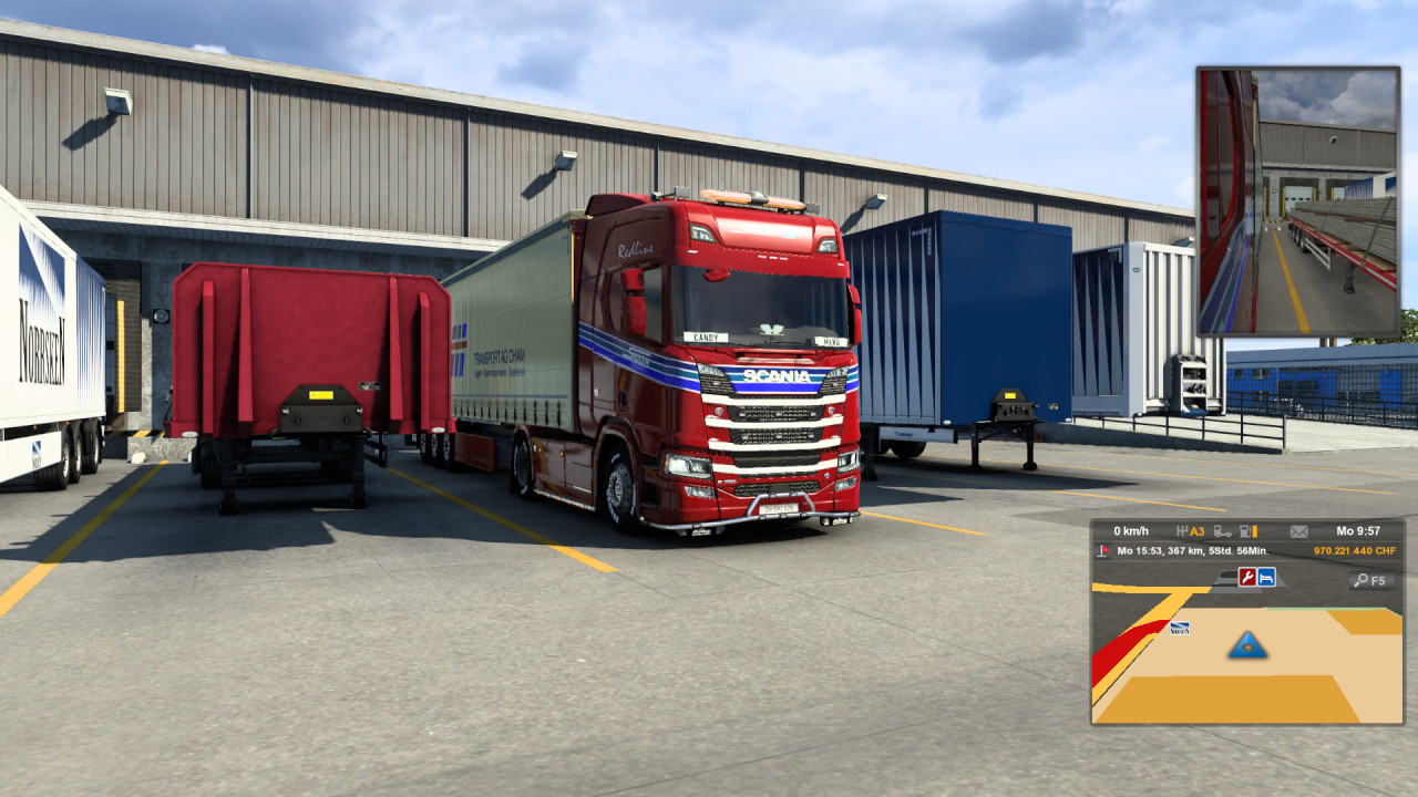 Sidler Transport AG Scania R 2016