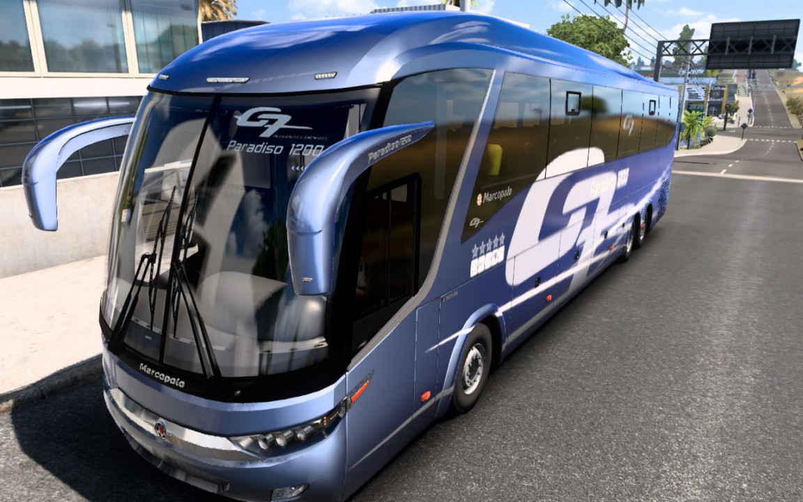 Marcopolo G7 1200 6x2 Facelift Scania Actualizado ETS2 - ATS 1.40