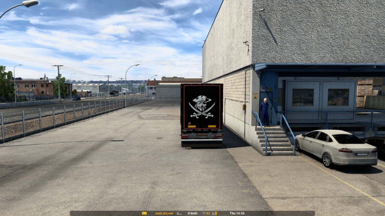 The Pirate | Scania T Custom Trailer Mod | SCS Food Box | ETS2