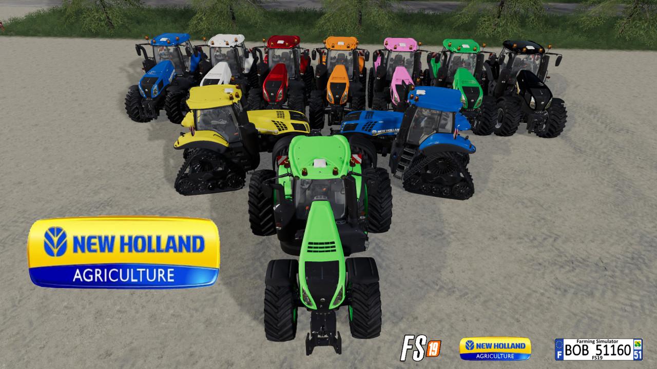 FS19 New Holland T8 V1 & V2 By BOB51160