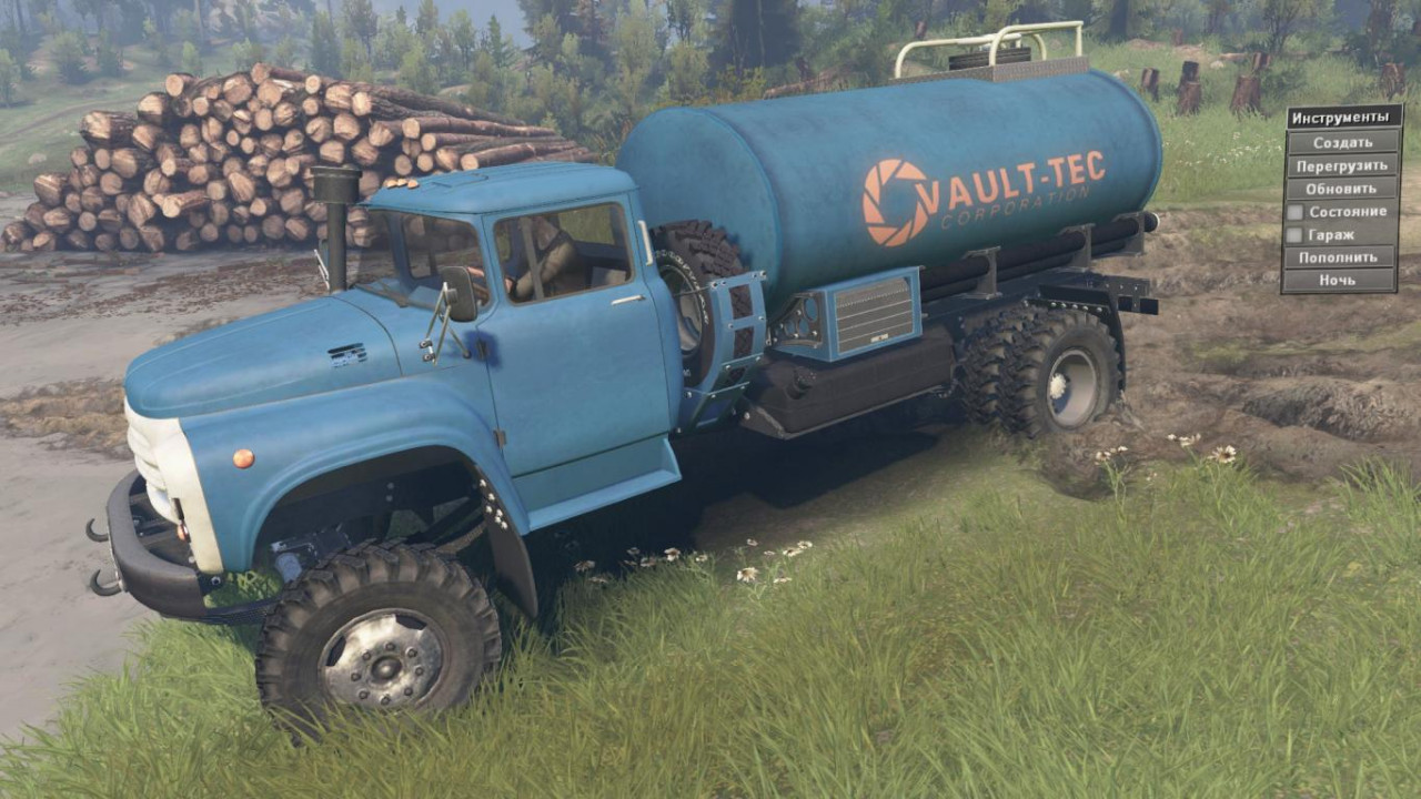 Textures for Zil 130P 4x4