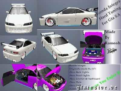 Honda Integra Hard Tuning