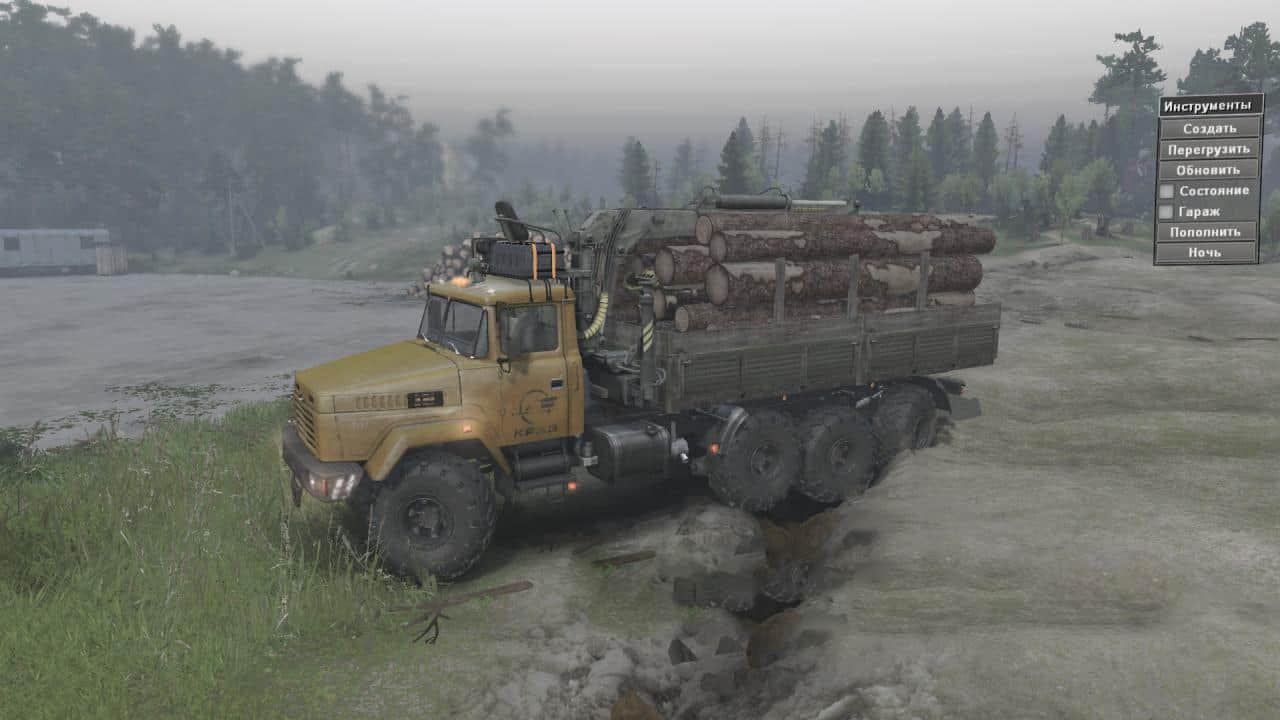KrAZ-7140H6 Truck