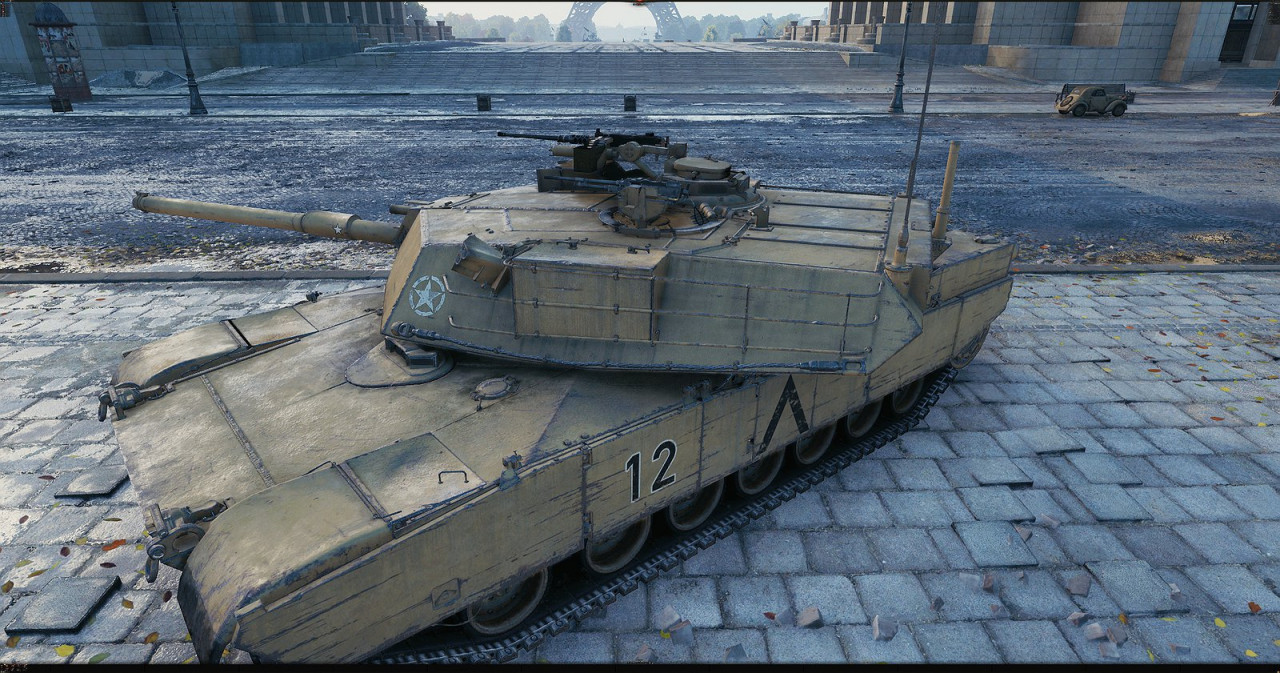 [replaceAnyTank] M1 abrams(105) from WT