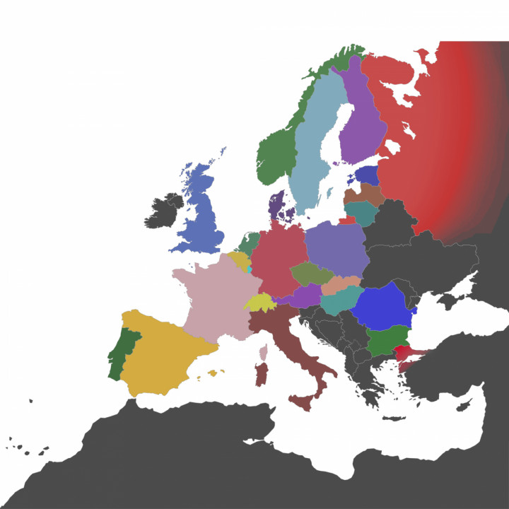 Simple Colored Map