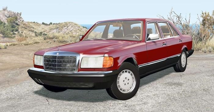 Mercedes-Benz 560 SEL (W126) 1985