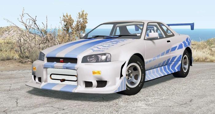 Nissan Skyline GT-R (R34) 2 Fast 2 Furious