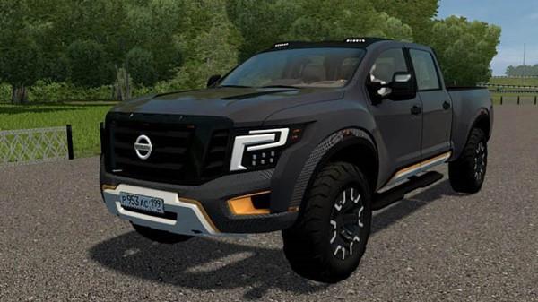 Nissan Titan Warrior 2016