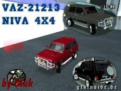 Lada Niva 4x4 Offroad