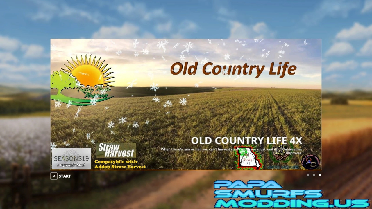 OLD COUNTRY LIFE 4X