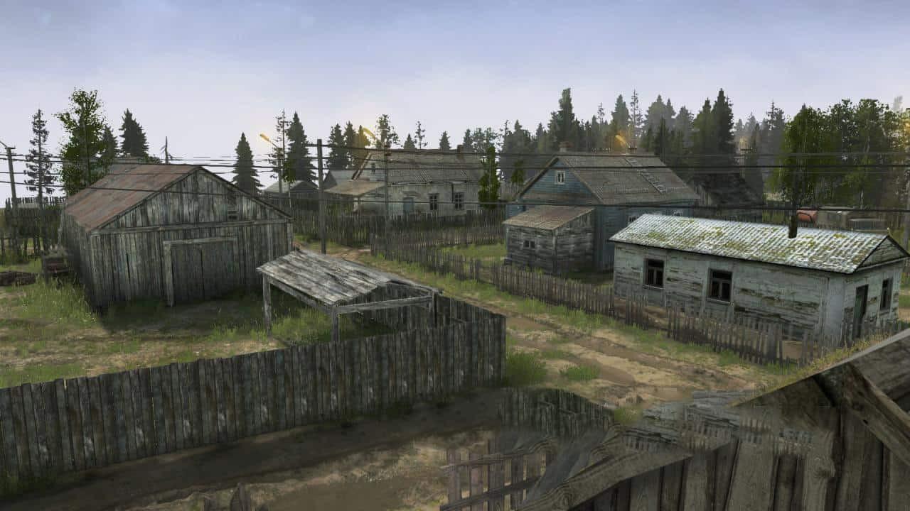 Old Villages Map