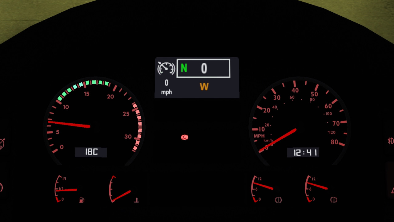 MAN TGA Custom Dashboard
