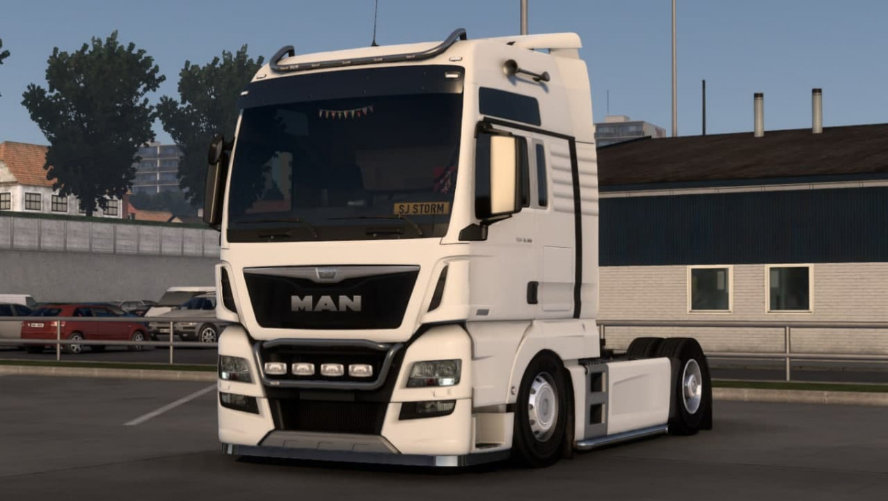 Lowdeck Chassis for Man trucks 1.40