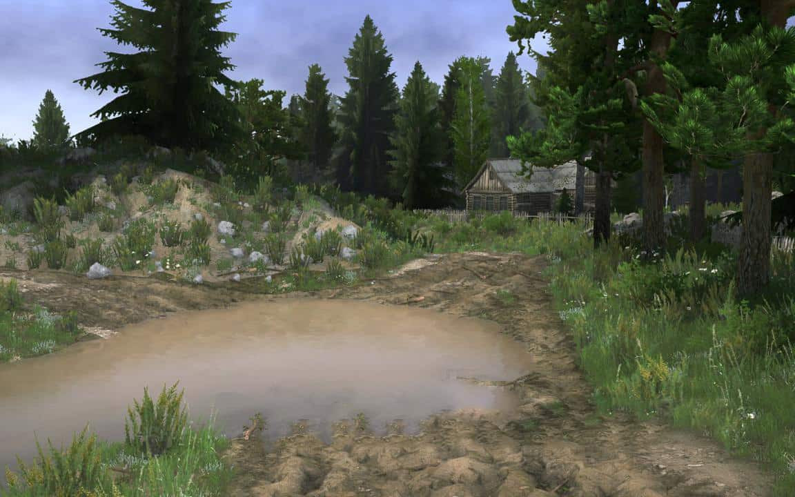 Somewhere in the Carpathians Map