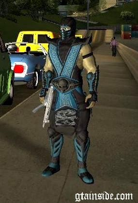Sub Zero Skin mod
