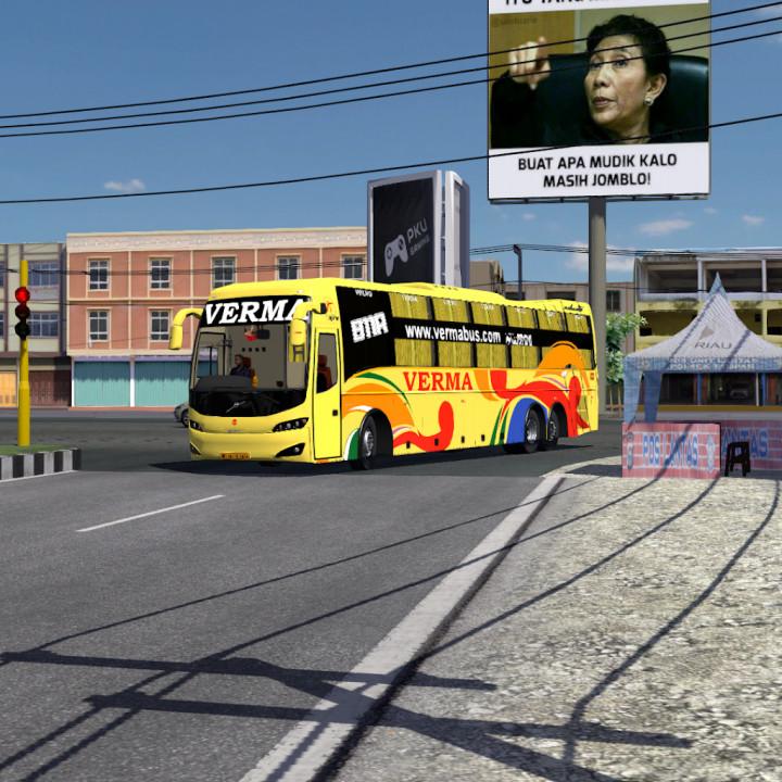 Volvo Celeste Sleeper Bus Mod (1.31 to 1.40.x)