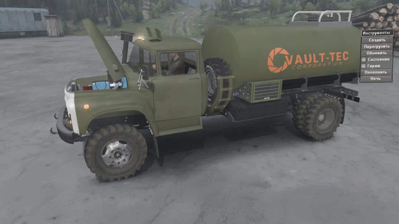 Zil 130P 4×4 Truck
