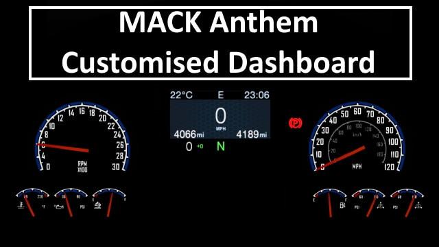 MACK Anthem Customised Dashboard