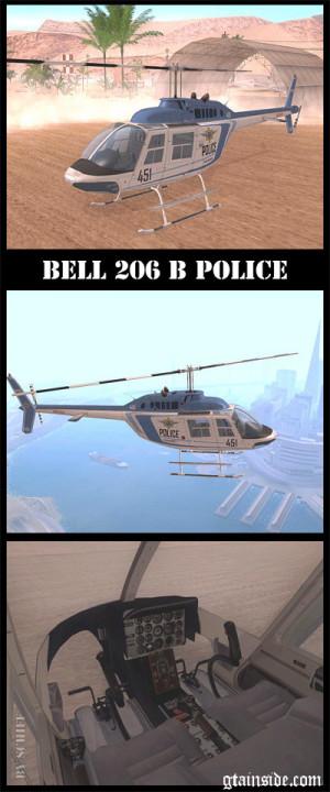 Bell 206 B Police