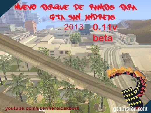 Nuevo Parque De Rampas 2013 0.11v beta