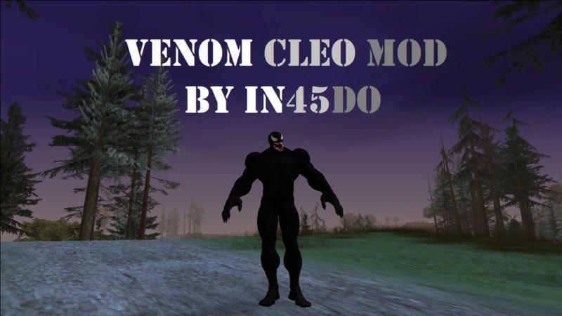 Venom CLEO Mod