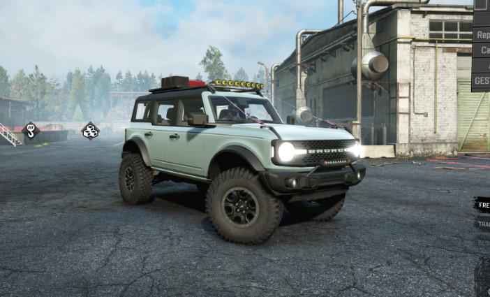 Ford Bronco Badlands 4doors (2021)