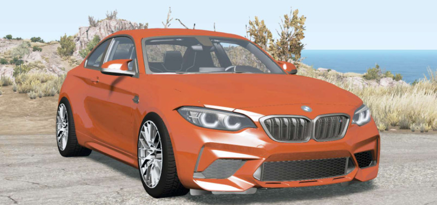 BMW M2 Competition (F87) 2018