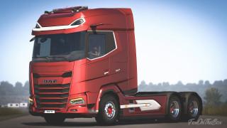 DAF XG+ Addon Chassis