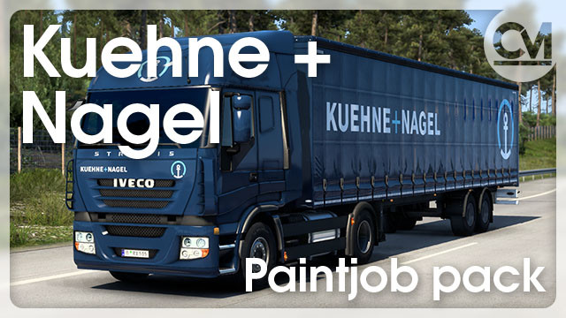 Kuehne + Nagel Paintjob Pack