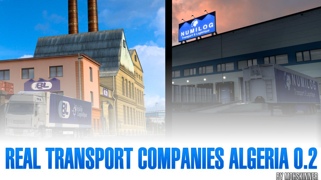 MohSkinner - Real Transport Companies Algeria 0.2 - ETS2 1.40