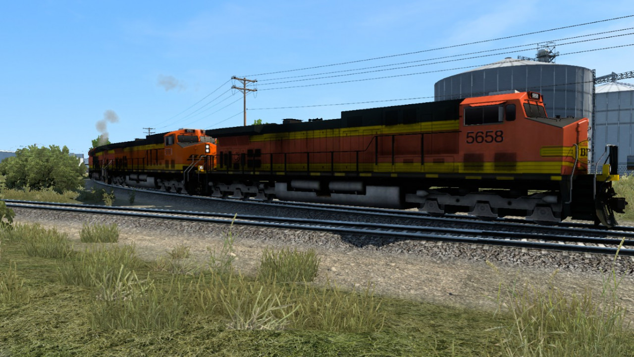 Improved Trains compatibility addon for mod Real Traffic Density by Cip