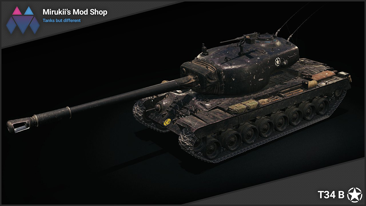 Mirukii's T34 B Remodel