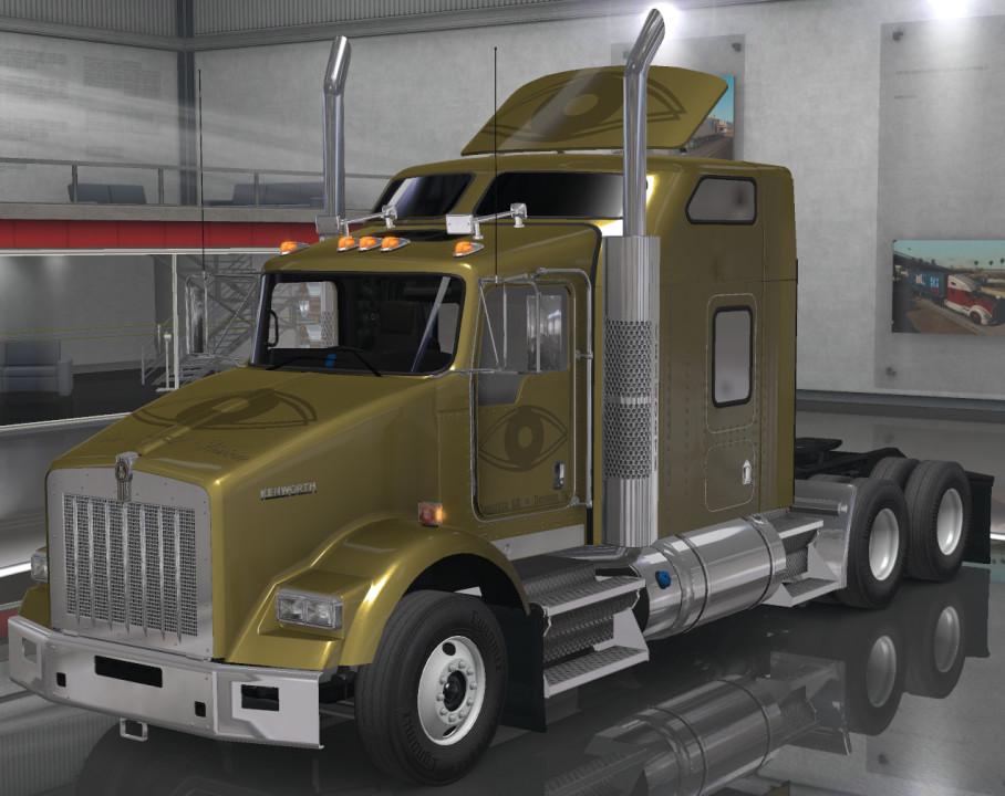 Pure Gold Vision Skins - Kenworth T800