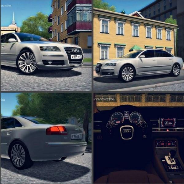 Audi A8 D3 6.0 Long Quattro