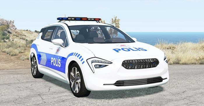 Cherrier FCV Turkish Police