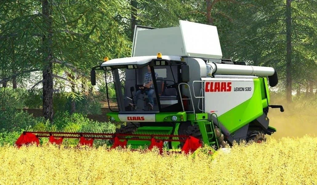 Claas Lexion 530 HTP