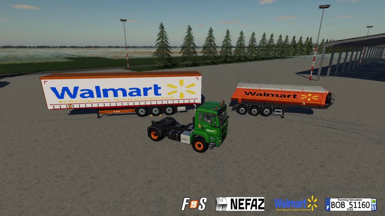 Pack Truck Trailers Walmart By BOB51160