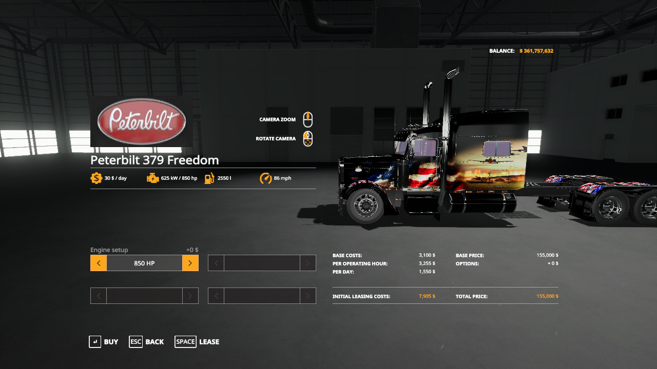 FS19 Freedom Truck and Trailers