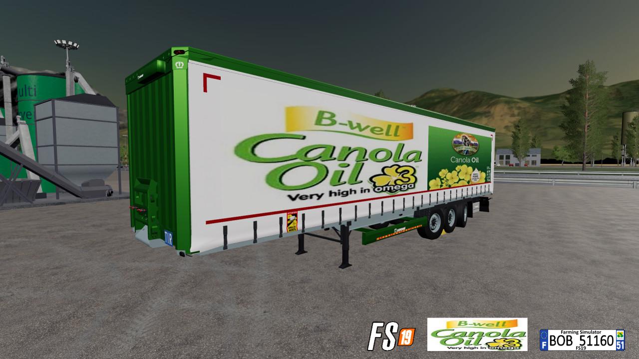 Colza Oil Trailers By BOB51160
